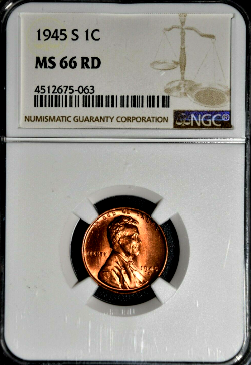 1945 Lincoln Wheat Penny