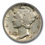 1916 Mercury Dime Value