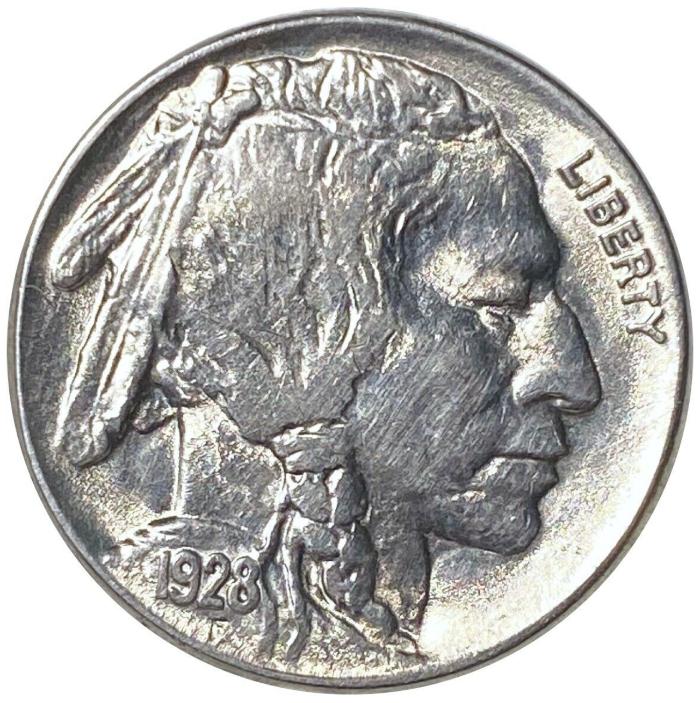 1928 Buffalo Nickel Values