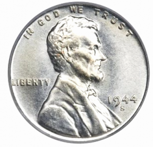 1944 steel penny auction