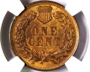1902 Indian Head Penny error
