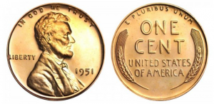 1951 wheat penny