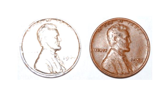 1944 fake steel penny