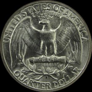 1934 quarter coin