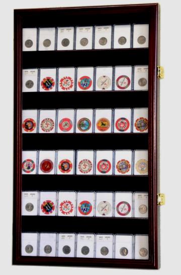 rare coin wall display case